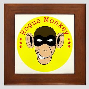 RogueMonkeyColor1 Framed Tile