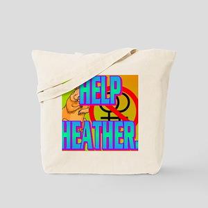 HELP HEATHER(kids) Tote Bag