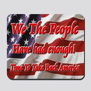 we_the_people Mousepad