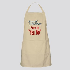 Party of Hell No text template 041710 Apron