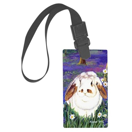 horatio_notebook Large Luggage Tag