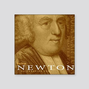 "Mousepad_Head_Newton Square Sticker 3"" x 3"""
