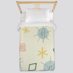Atomic Age Art Twin Duvet Cover