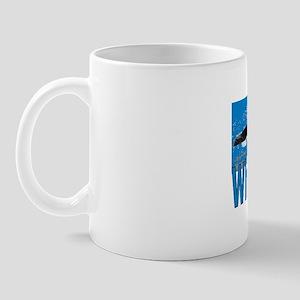 flier shirt-blue Mug