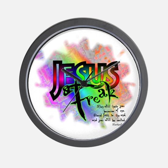 JESUSfreak04 Wall Clock