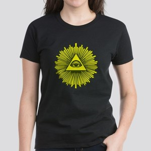 All Seeing Eye Yellow T-Shirt