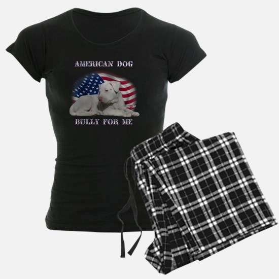 Amerian Flag Dog, Bully for  Pajamas