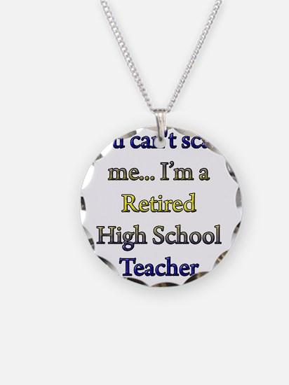 retired teacher 1 copy Necklace