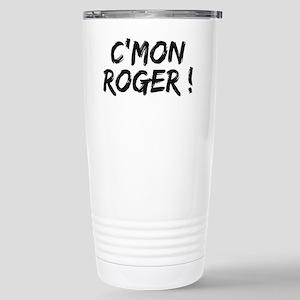 common Roger Federer Stainless Steel Travel Mug