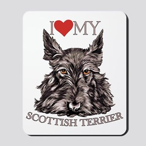 Scottish Terrier Love My Mousepad