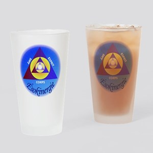 LOGO_ESOcomplet Drinking Glass