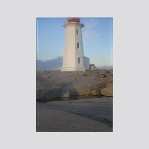 Lighthouse Peggys Cove, NS Rectangle Magnet