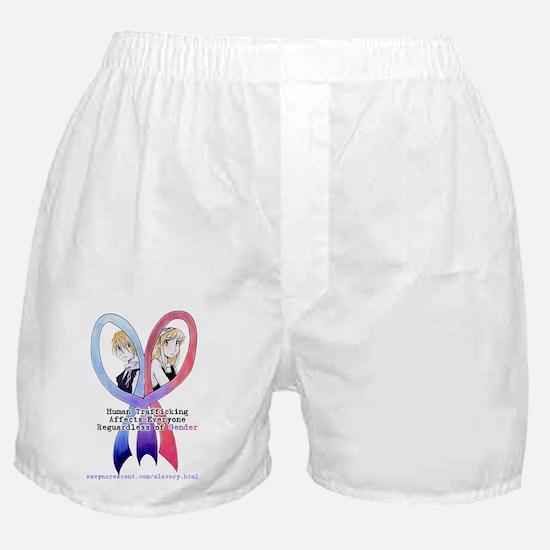 awarenessanyoneblack1 Boxer Shorts