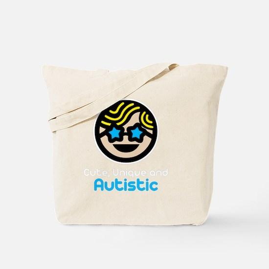 Unique -dk Tote Bag