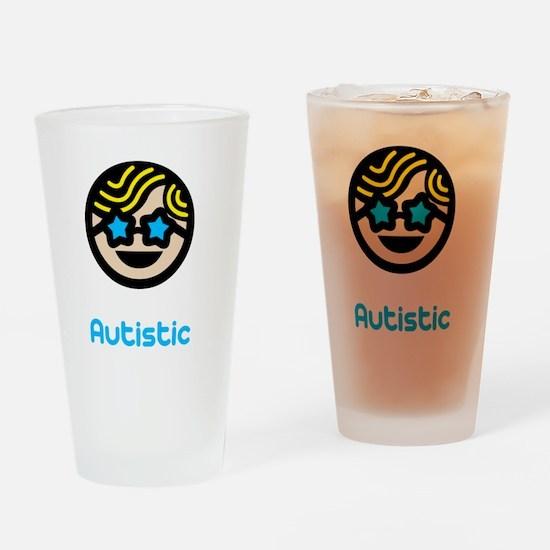 Unique -dk Drinking Glass
