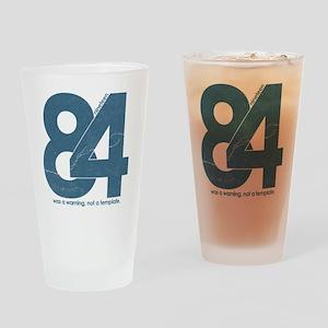 nineteen84Faded Drinking Glass