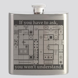 Dungeon Crawl Tee Flask