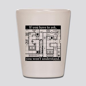 Dungeon Crawl Tee Shot Glass