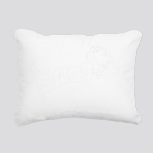 Liger (dark) Rectangular Canvas Pillow