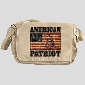 american patriot Messenger Bag