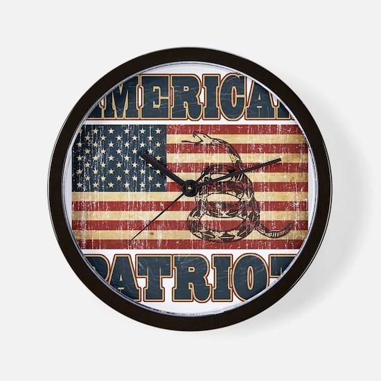 american patriot Wall Clock