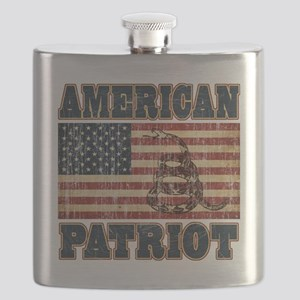american patriot Flask