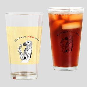 BART_BUTTON_2.5 Drinking Glass