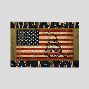 american patriot_yard Rectangle Magnet