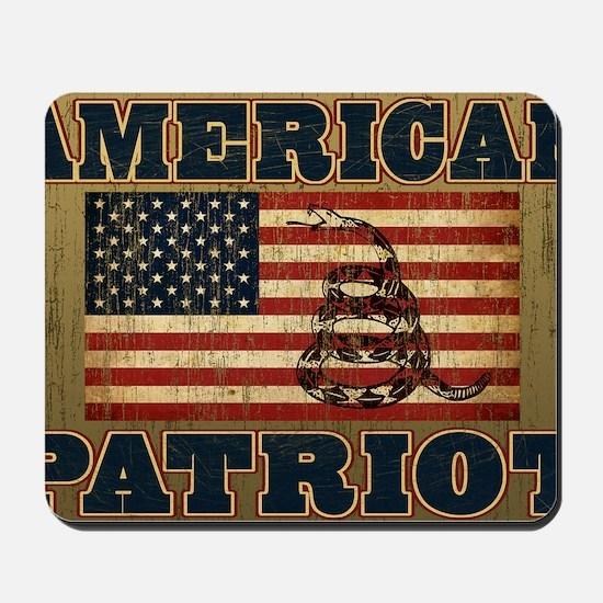 american patriot_yard Mousepad