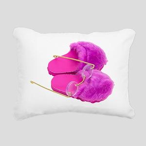 NightlyReadingRitual0303 Rectangular Canvas Pillow