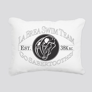 LaBreaWhiteLetters Rectangular Canvas Pillow