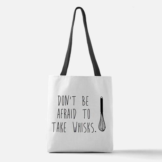 Take Wisks Polyester Tote Bag