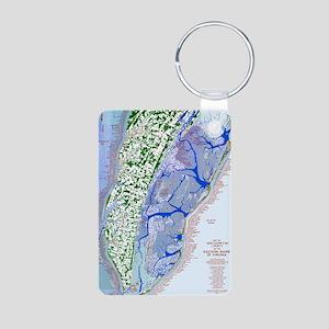 1023 Map of Northampton Co Aluminum Photo Keychain