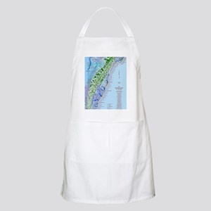 7002 Eastern Shore Map Apron