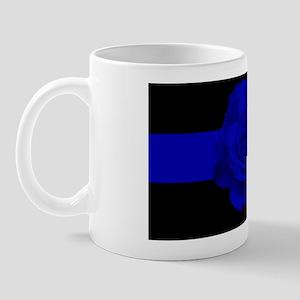 bluelineroses2 Mug
