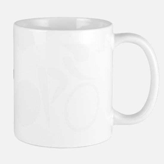 2-I heart cycling white Mug