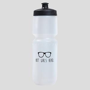 Hot Girls Read Sports Bottle