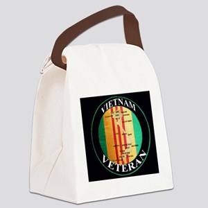 VV patch Canvas Lunch Bag