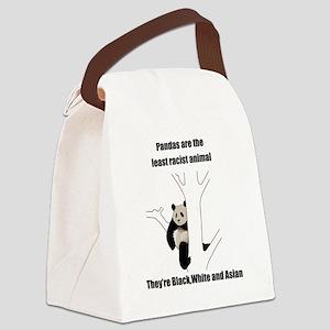 racist_panda Canvas Lunch Bag