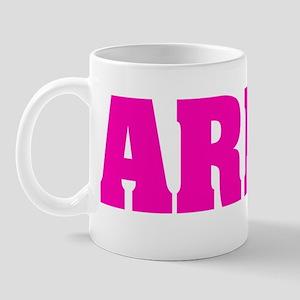 Army hot pink copy Mug