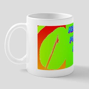 KEEP CAPITAL PUNISHMENT(small framed pr Mug