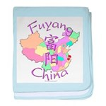 Fuyang China baby blanket
