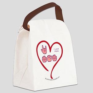 LoveMomBbt Canvas Lunch Bag