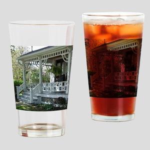 Warm Springtime Welcome Drinking Glass