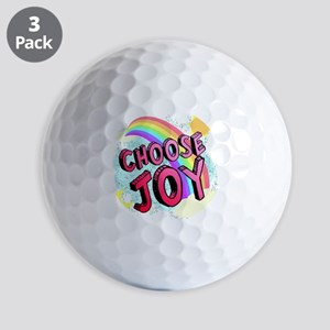 Choose Joy Large Golf Balls