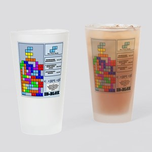 ibbloxfront Drinking Glass