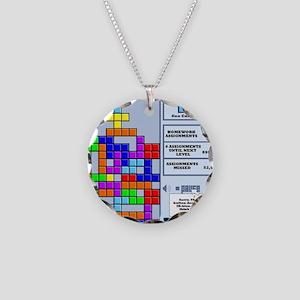 ibbloxfront Necklace Circle Charm