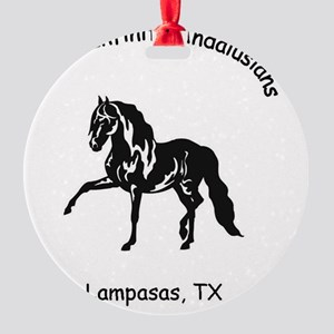 Ranch Logos Round Ornament