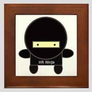 ninja-big Framed Tile