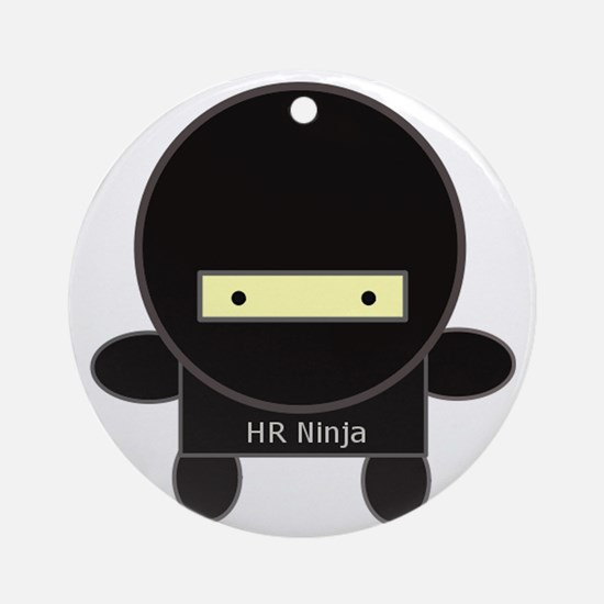 ninja-big Round Ornament